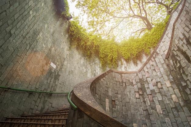 Voyager au fort canning park à singapour