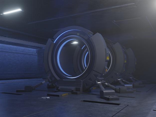 Voyager à travers la porte du futur à la vitesse de la lumière.