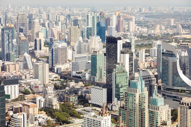 Vue aérienne de bangkok