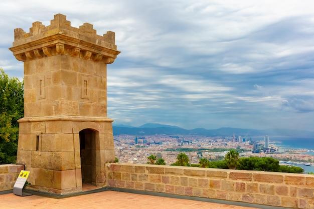 Vue aérienne de barcelone, catalogne, espagne