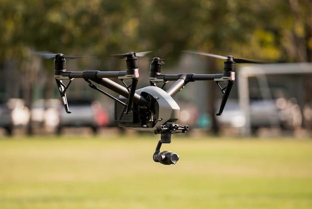 Vue aérienne avec drone