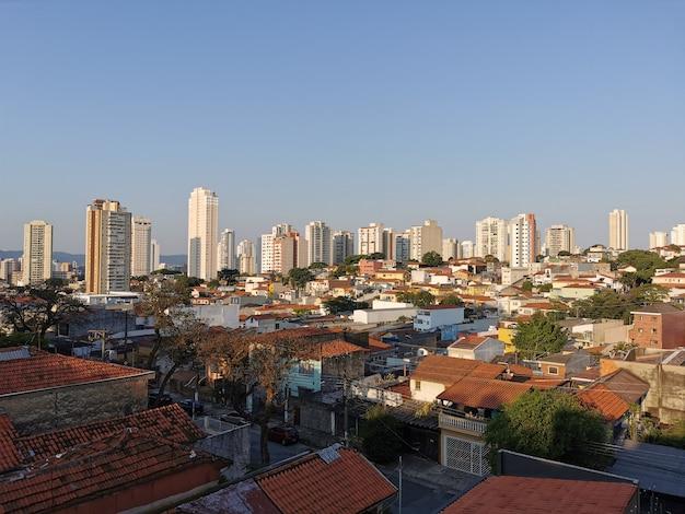 Vue aérienne du quartier de vila ipojuca.