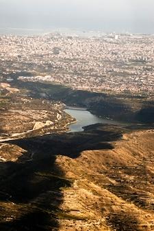 Vue aérienne de la ville de limassol