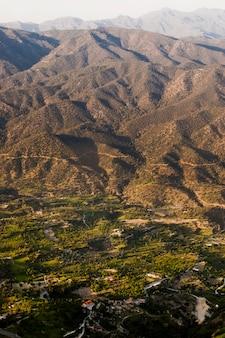 Vue aérienne de la zone résidentielle