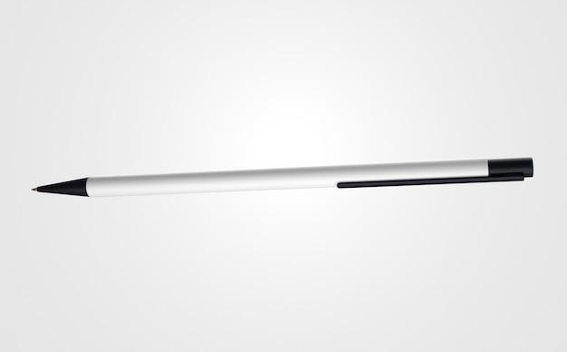 Vue avant du stylo 3d dynamique