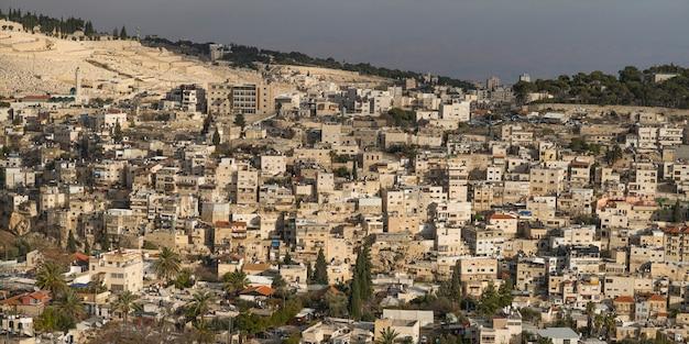 Vue des bâtiments à jérusalem, israël