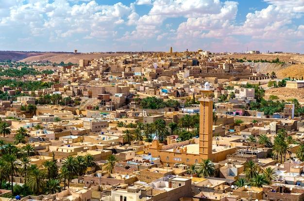 Vue de beni isguen, une ville de la vallée du mzab.
