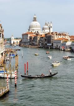 Vue sur le canal vénitien