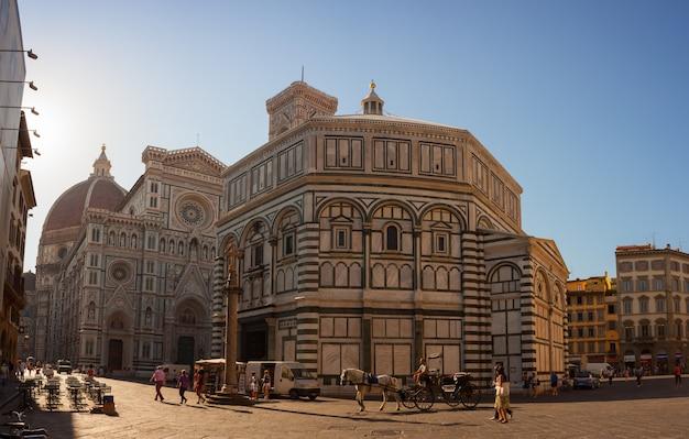 Vue de la cathédrale de florence