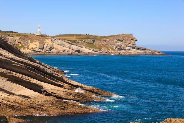 Vue de la côte de santander