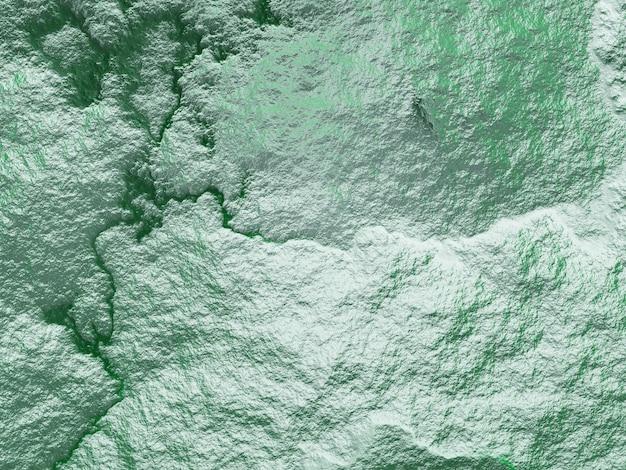 Vue de dessus 3d du terrain topographique