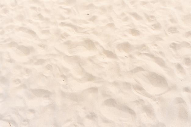 Vue de dessus agrandi fond de texture de sable