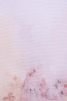 Vue de dessus aquarelle sur papier