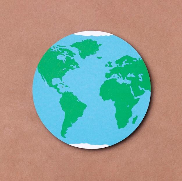 Vue de dessus concept de la journée mondiale du tourisme