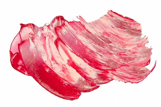 Vue de dessus couleurs de peinture mélangées
