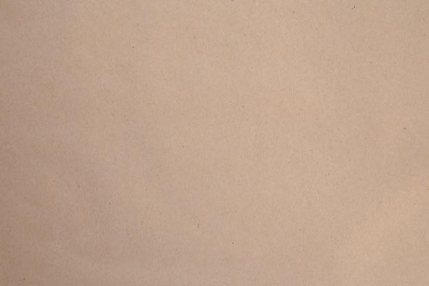 Vue de dessus du fond de papier kraft brun
