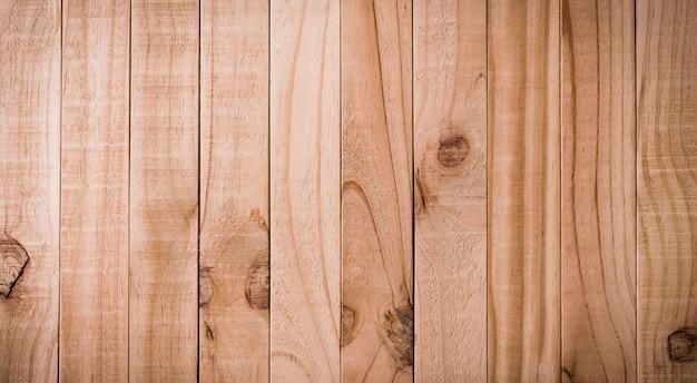 Vue de dessus du fond de texture bois brun, table en bois.