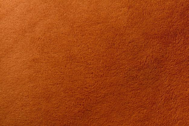 Vue de dessus du fond de texture de serviette de couleur marron