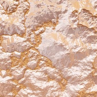 Vue de dessus du terrain topographique