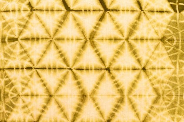 Vue de dessus du textile tie-dye