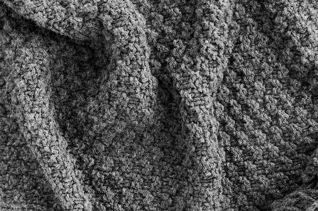 Vue de dessus du textile