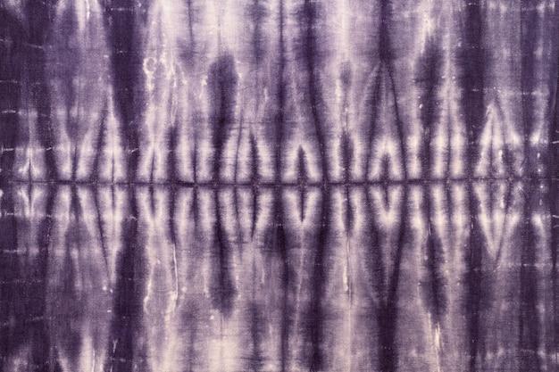 Vue de dessus du tissu tie-dye