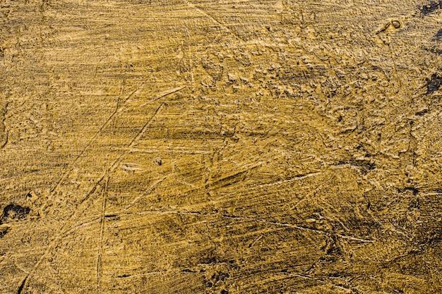 Vue de dessus fond doré paillettes