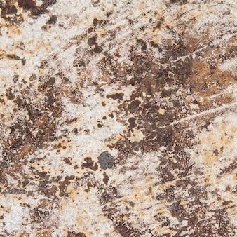 Vue de dessus fond métal abstrait close-up