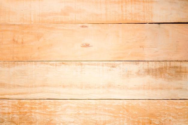 Vue de dessus fond de texture en bois