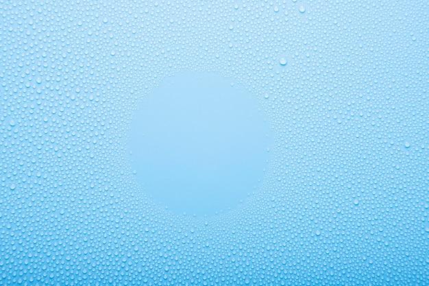 Vue de dessus fond de texture de l'eau de mer claire