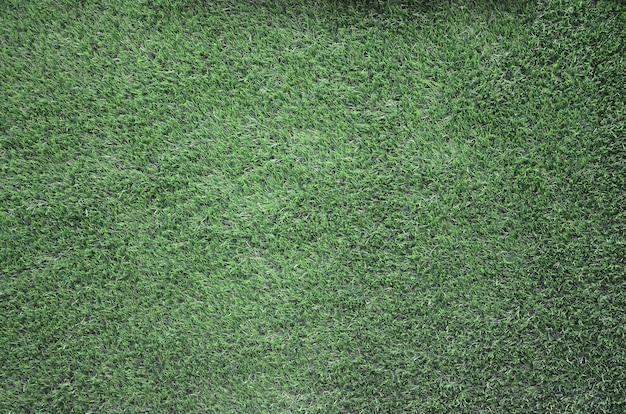 Vue de dessus d'herbe verte