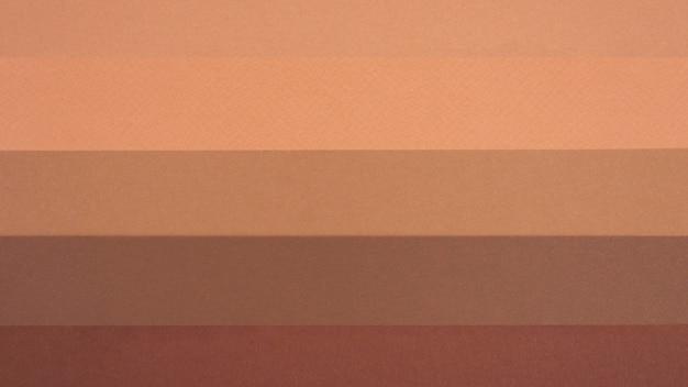 Vue de dessus des lignes monochromes
