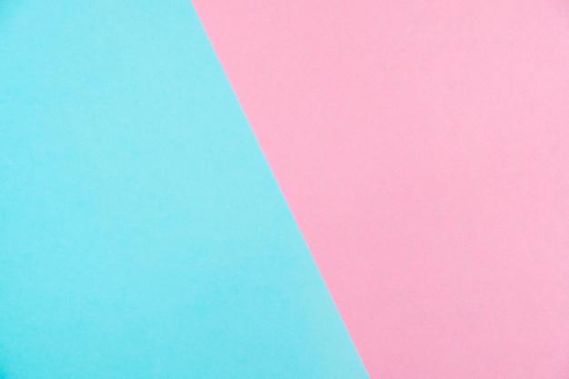 Vue de dessus de papier couleur pastel