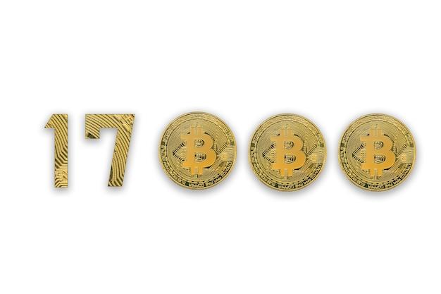 Vue de dessus des pièces de monnaie crypto