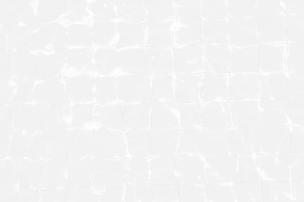 Vue de dessus piscine eau déchirée blanche abstrait