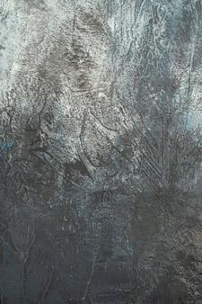 Vue de dessus de la surface grise