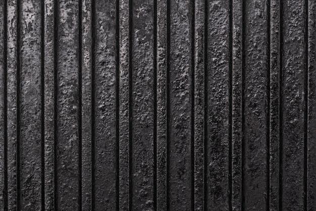 Vue de dessus de la surface métallique avec motif