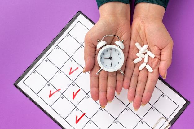 Vue de dessus le temps de la médecine