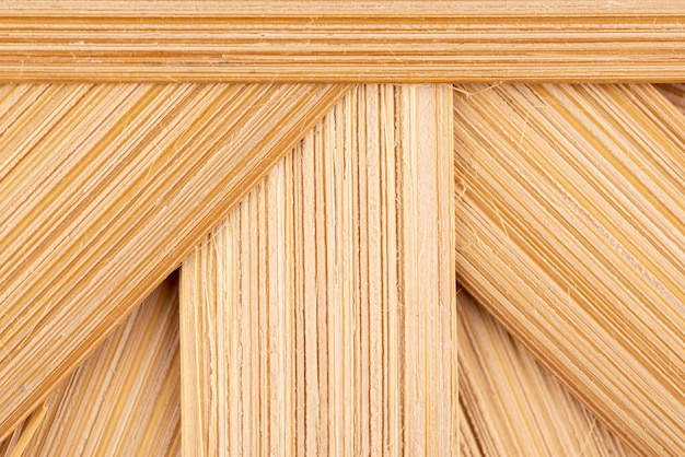 Vue de dessus texture en bois naturel