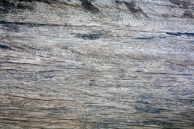 Vue de dessus de la texture du bois ancien, bois sombre naturel pour le fond.
