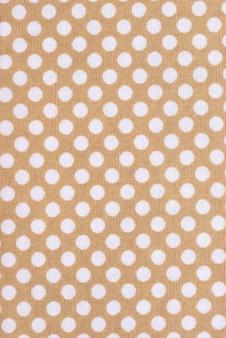 Vue de dessus de la texture du tissu