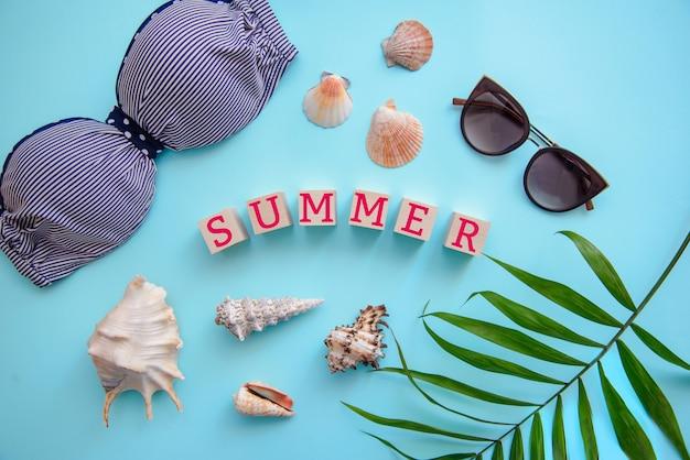 Vue de dessus: vacances d'été