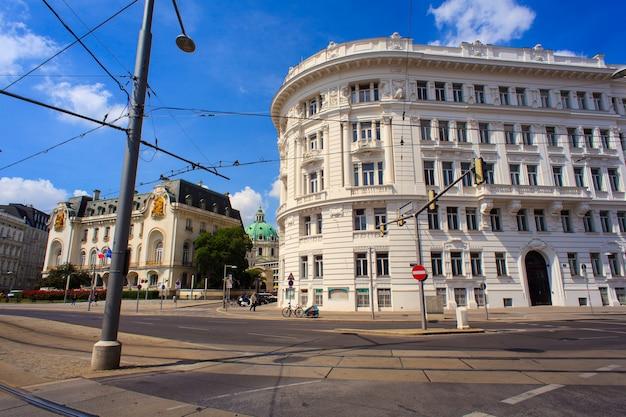 Vue du bâtiment historique à vienne