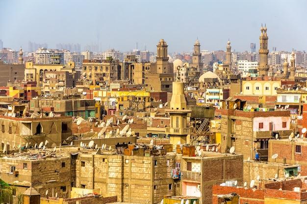 Vue du caire islamique egypte