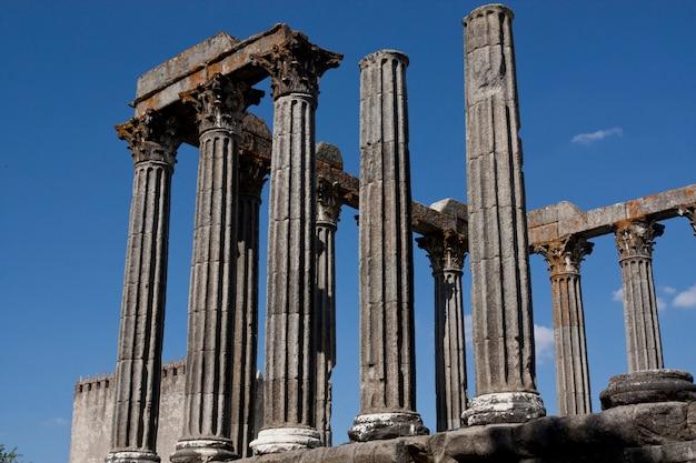 Vue du magnifique temple de diane