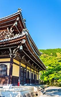 Vue du temple nanzen-ji à kyoto, japon