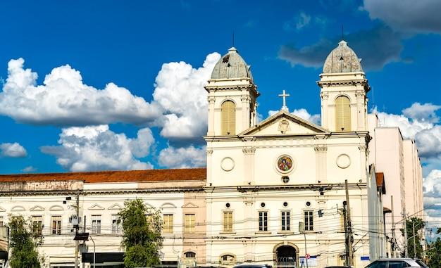 Vue de l'église de sao cristovao à sao paulo, brésil