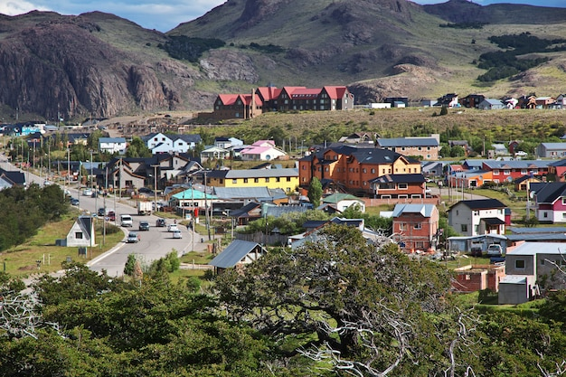La vue sur el chalten patagonie argentine