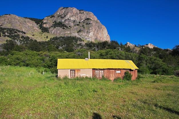 La vue sur el chalten, patagonie, argentine