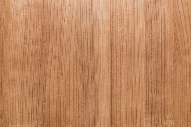 Vue élevée d'un plancher en bois brun